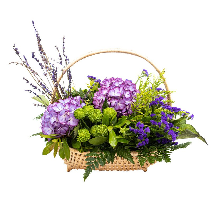 cesta-de-flores-hortensias-da-ilha-do-corvo