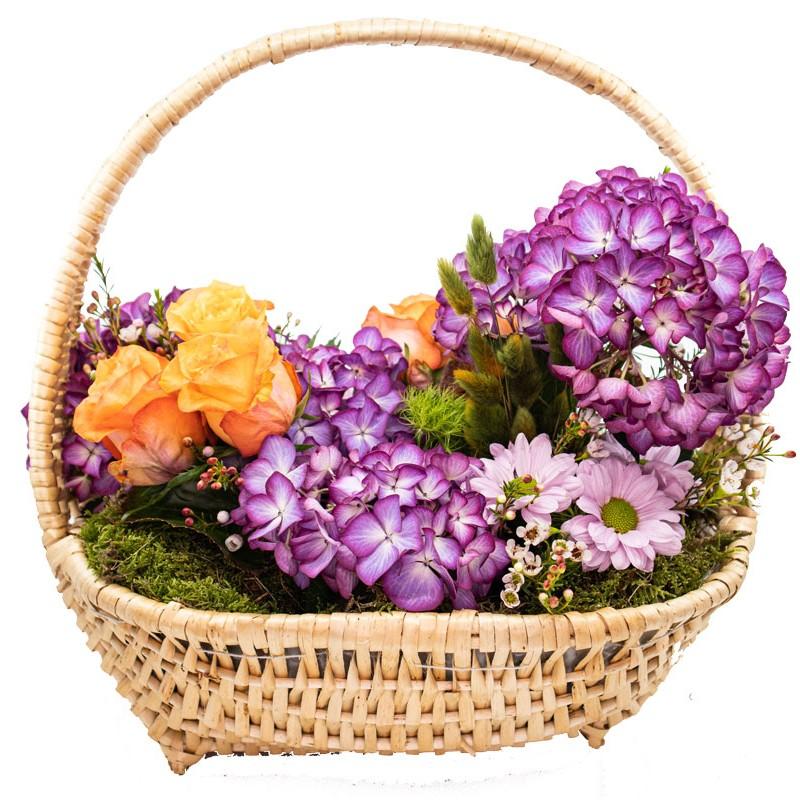 cesta-de-flores-hortensias-de-santa-maria
