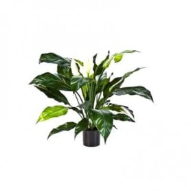 Planta Artificial Spathiphyllum Deluxe