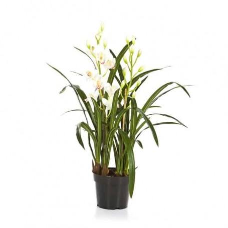Planta Artificial Orquidea Cymbidium