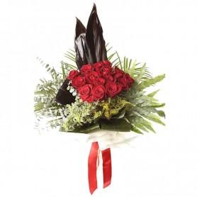 Ramo de Rosas vermelhas naturais - Amor Ardente