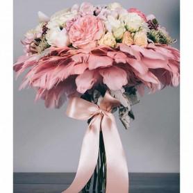 Requintado Ramo de flores com Rosas, cravos e orquídeas - Bailarina