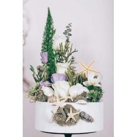 Caixa Flores Orquídeas e Rosas - BRISA do MAR