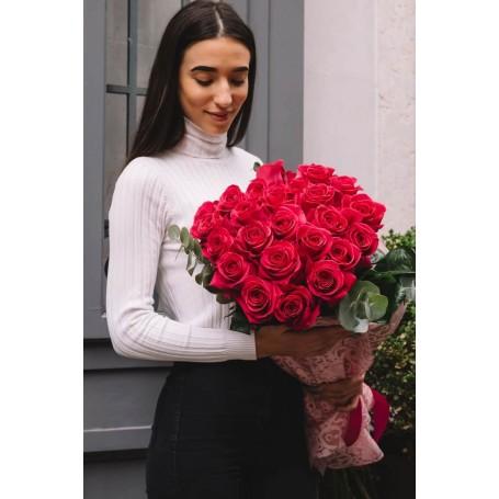 ramo de rosas vermelhas - CZAR do AMOR