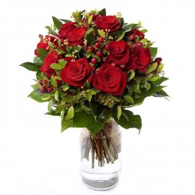 Ramo de rosas vermelhas lindas - ROSAS de PAIXÃO