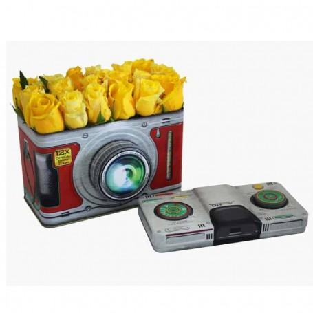 Caixa especial com Rosas amarelas - ROSAS na FOTOGRAFIA