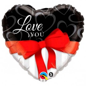 Balão cheio de hélio Love You