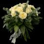 bouquet Rosas brancas - PUREZA