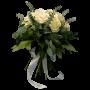 arranjo Rosas brancas - PUREZA