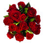 ramo Rosas Vermelhas - SURPRESA