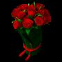 Rosas Vermelhas ramo