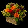 Bonita Caixa de Madeira com Rosas - PORTO SANTO