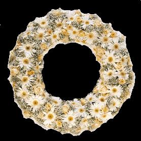 Coroa de Rosas para Funeral - E