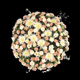 Coroa de Flores Naturais para Funerais - H