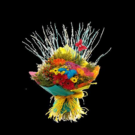 Bouquet de Flores Campestres para Aniversariantes - DIPLOMATA