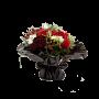 Bouquet de Rosas Composto por Gerberas, Hypericum, Freesias - FILLIN
