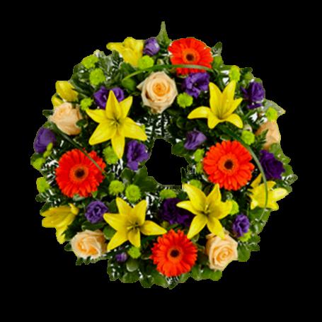 Coroa Fúnebre de Flores Naturais - dos COLEGAS