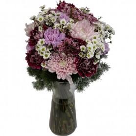 Ramo de Flores com Margaridas da Felicidade