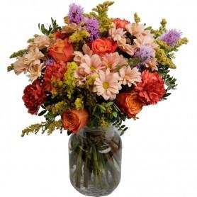 Um Bouquet de Flores - Um sorriso de flores