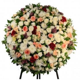 Coroa Fúnebre Rosas de Fátima