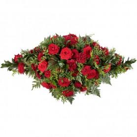 Almofada de Rosas Fúnebre ULTIMO ADEUS