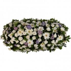 Palma de Flores para Velório com GERBERAS - S