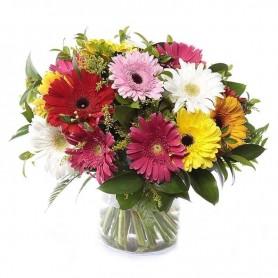 Jarras com flores